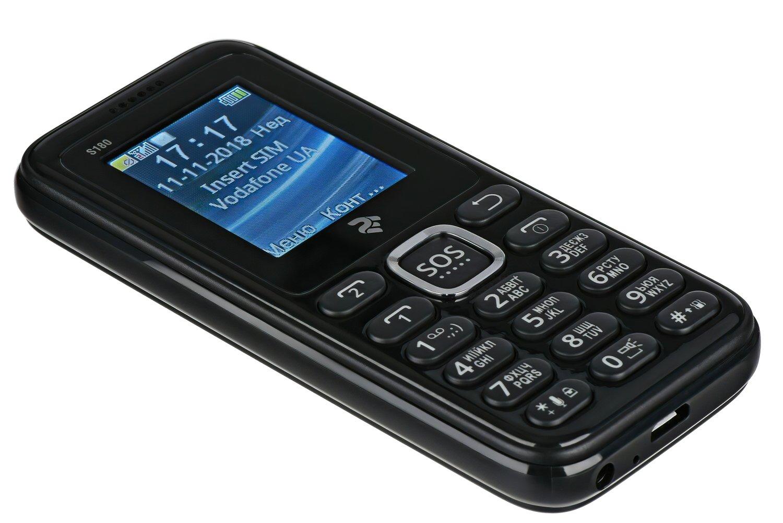 Мобильный телефон 2E S180 DS Black фото 3