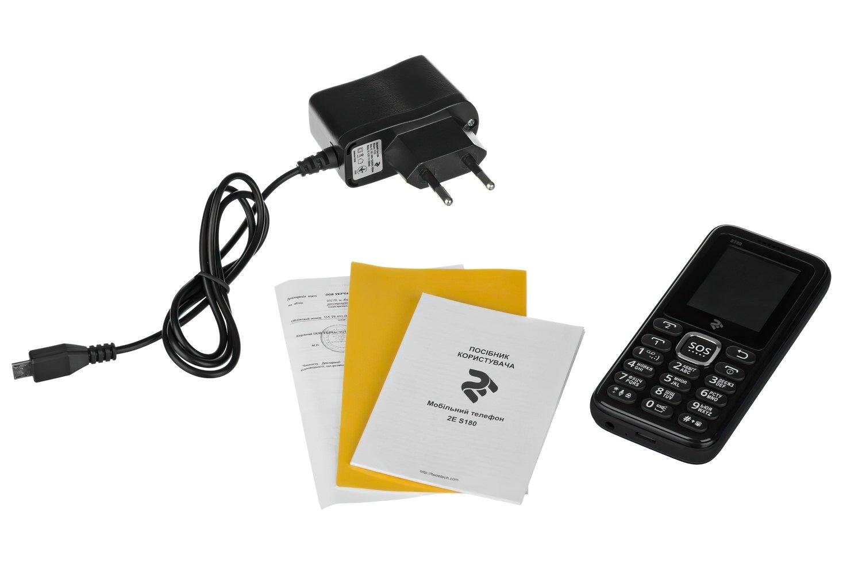 Мобильный телефон 2E S180 DS Black фото 9
