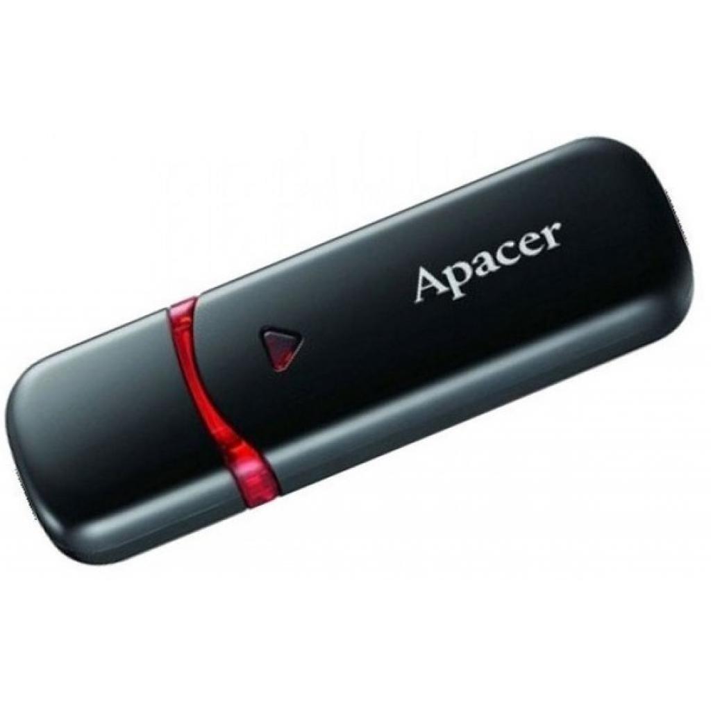Накопичувач USB 2.0 APACER AH333 32GB Black (AP32GAH333B-1) фото