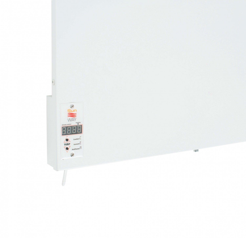 Тепловая панель Teploceramic Sun Way SWRE-400 с терморегулятором фото