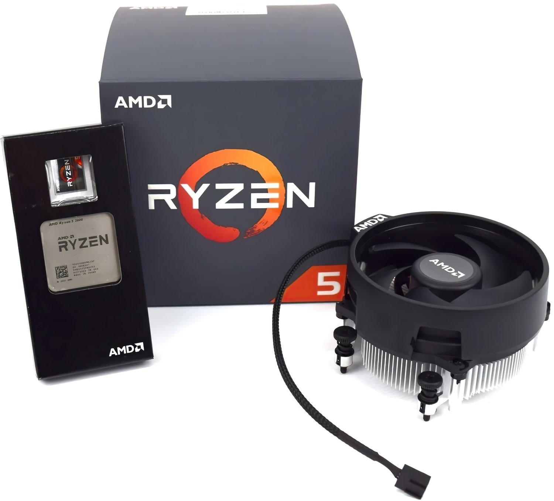 Процесор AMD Ryzen 5 2600 6/12 3.4GHz 16Mb AM4 65W Box (YD2600BBAFBOX) фото2