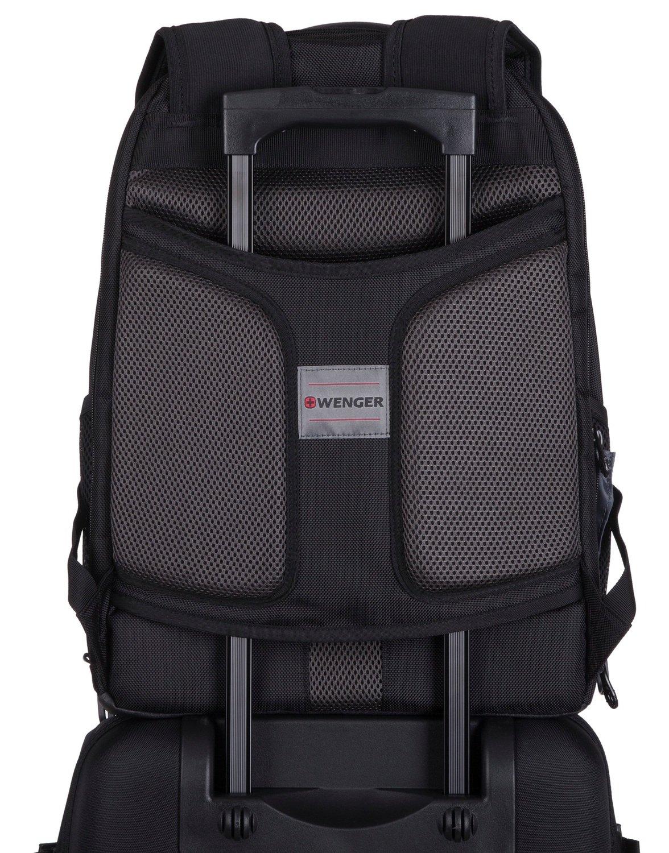"Рюкзак для ноутбука Wenger Ibex 125th 17"" Black Carbon Black фото"