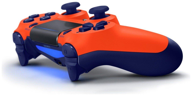 Беспроводной геймпад SONY Dualshock V2 Sunset Orange для PS4 (9918264) фото 3
