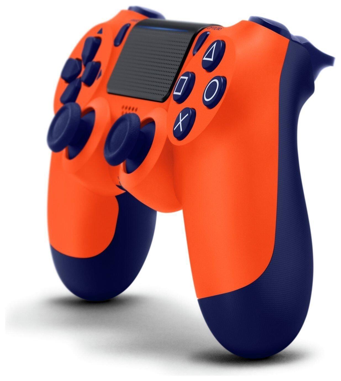 Беспроводной геймпад SONY Dualshock V2 Sunset Orange для PS4 (9918264) фото 2