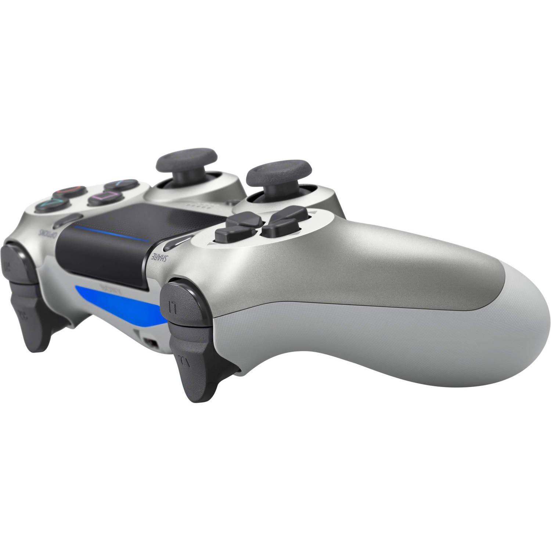 Беспроводной геймпад SONY Dualshock 4 V2 Silver для PS4 (9895954) фото 3