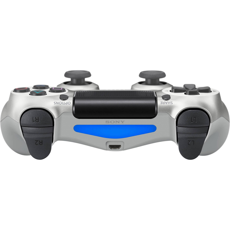 Беспроводной геймпад SONY Dualshock 4 V2 Silver для PS4 (9895954) фото 4
