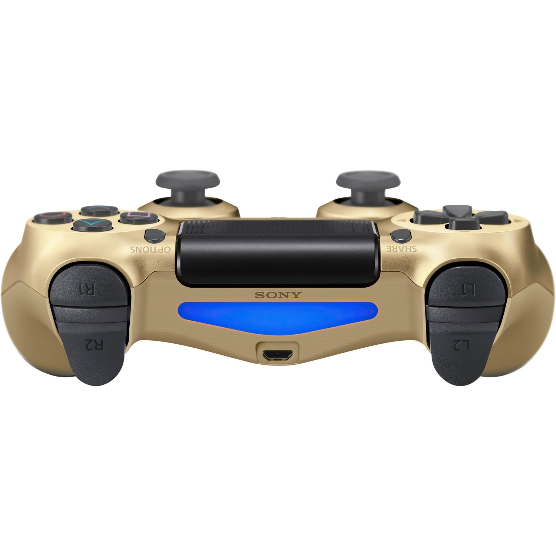 Беспроводной геймпад SONY Dualshock 4 V2 Gold для PS4 (9895558) фото 4