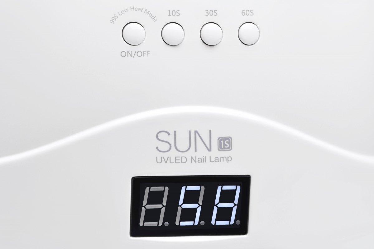Лампа для маникюра UV LED SUN SUN1S_White 48 Вт фото 9