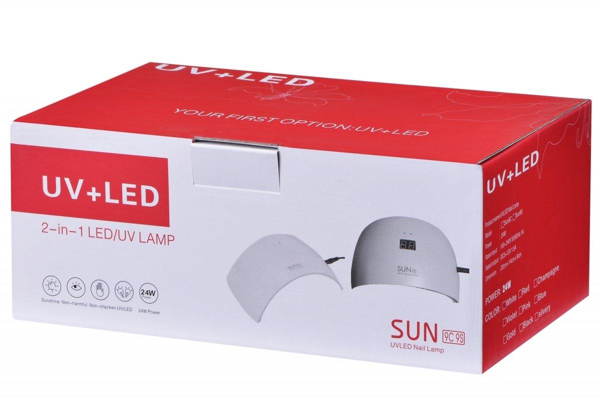 Лампа для маникюра UV LED SUN SUN9S 24 Вт фото 9