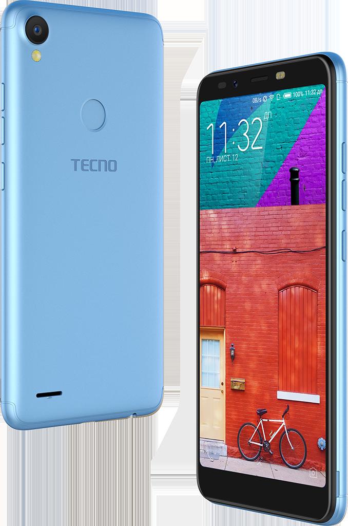 ≡ Смартфон TECNO POP 1s pro (F4 pro) DS City Blue – купить