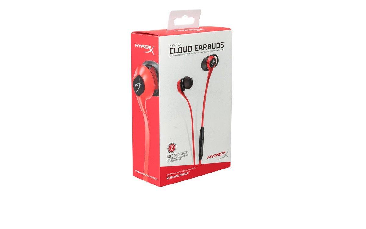 Наушники HyperX Cloud Earbuds (HX-HSCEB-RD) фото 5