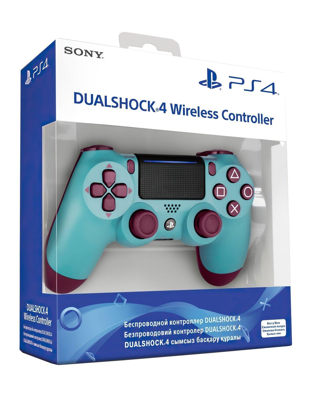 Беспроводной геймпад SONY Dualshock 4 V2 Berry Blue (9718918) фото 6
