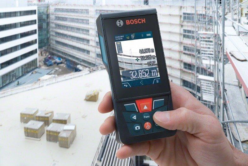 Дальномер Bosch GLM 120 C фото