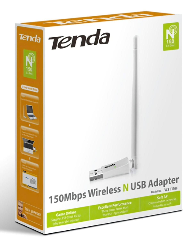 Wi-Fi-адаптер TENDA W311MAфото