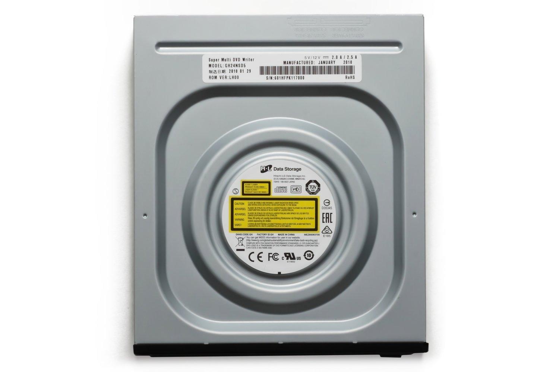 Оптичний привід Hitachi-LG SuperMulti GH24NSD5 SATA INT Bulk Black 24x (GH24NSD5) фото5