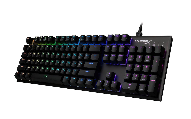 Игровая клавиатура HyperX Alloy FPS RGB Silver Speed (HX-KB1SS2-RU) фото 4
