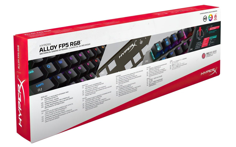Игровая клавиатура HyperX Alloy FPS RGB Silver Speed (HX-KB1SS2-RU) фото 5
