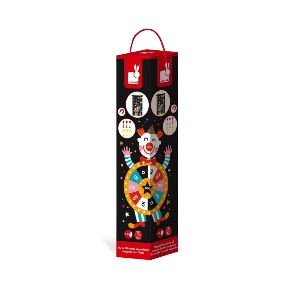 Игра Janod Магнитный дартс Цирк (J02074) фото