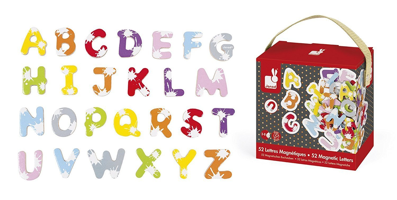 Набор аксессуаров Janod Алфавит английский язык (J09612) фото
