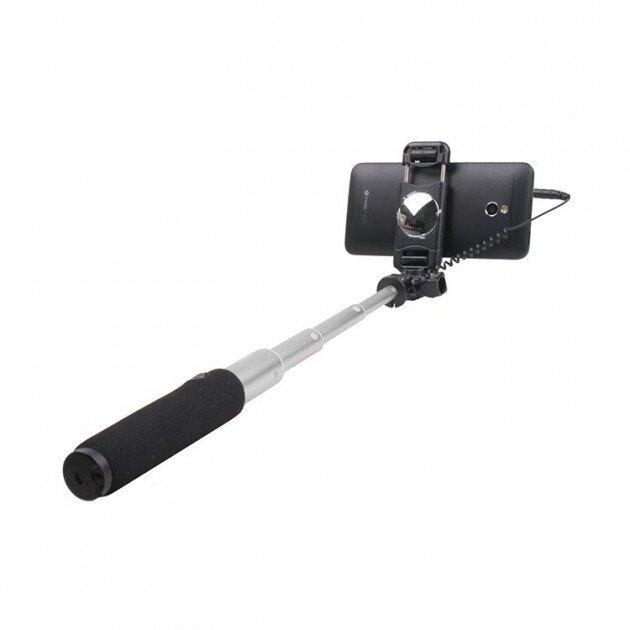 Монопод для смартфона Remax mirow Selfie Stick Silver фото2