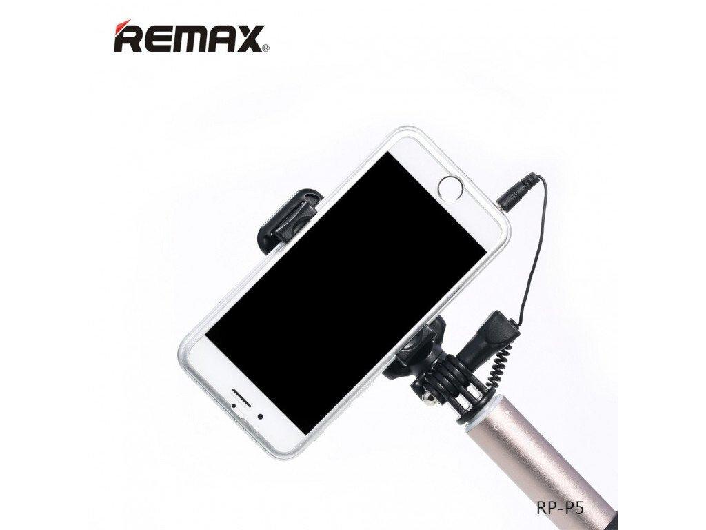 Монопод для смартфона Remax mirow Selfie Stick Silver фото5