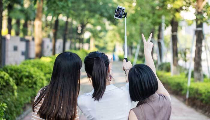 Монопод для смартфона Remax mirow Selfie Stick Pink фото7