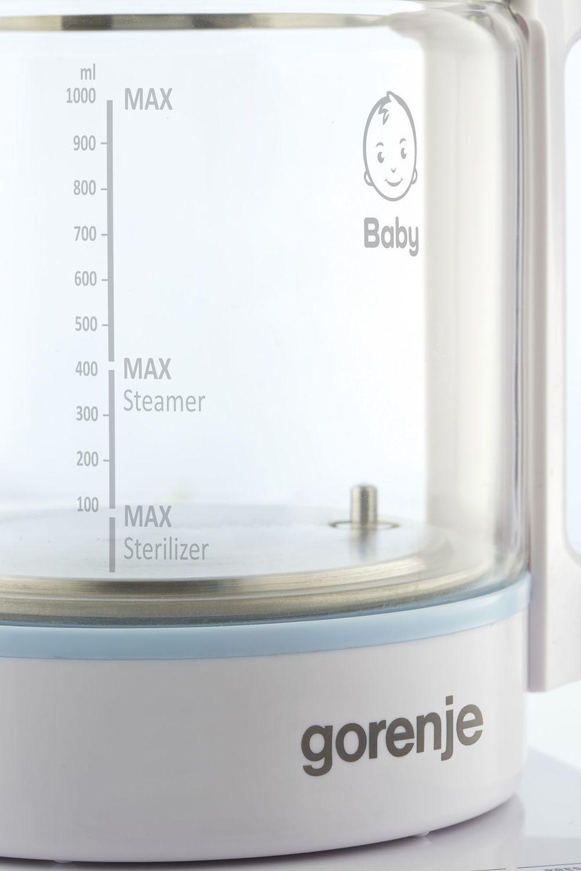 Прибор для подогрева и стерилизации Gorenje (5-в-1 800, Вт 1 л, автоотключатель, термостат, электронное управление) (K10 фото 3