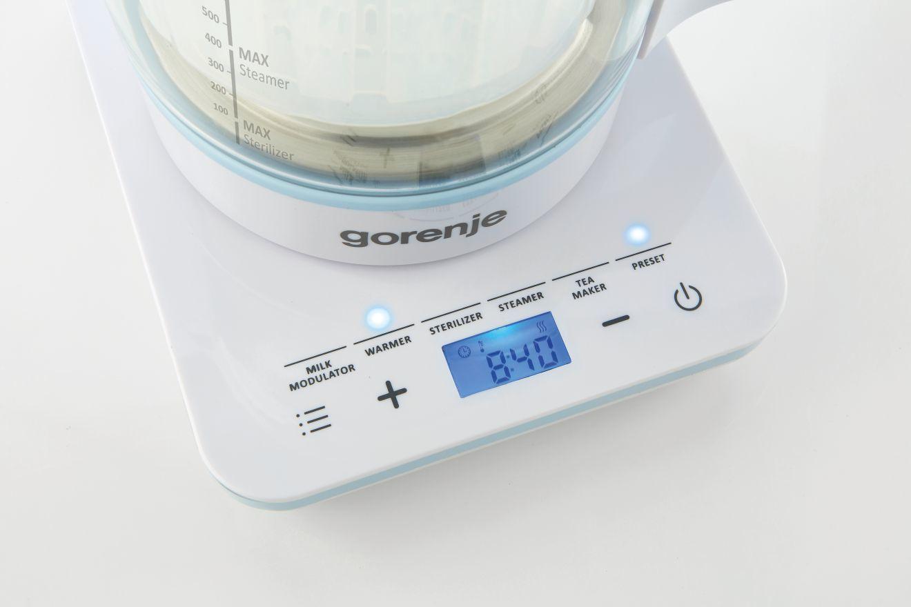 Прибор для подогрева и стерилизации Gorenje (5-в-1 800, Вт 1 л, автоотключатель, термостат, электронное управление) (K10 фото 6