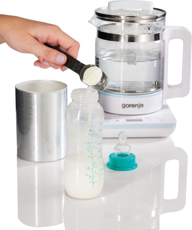 Прибор для подогрева и стерилизации Gorenje (5-в-1 800, Вт 1 л, автоотключатель, термостат, электронное управление) (K10 фото 7