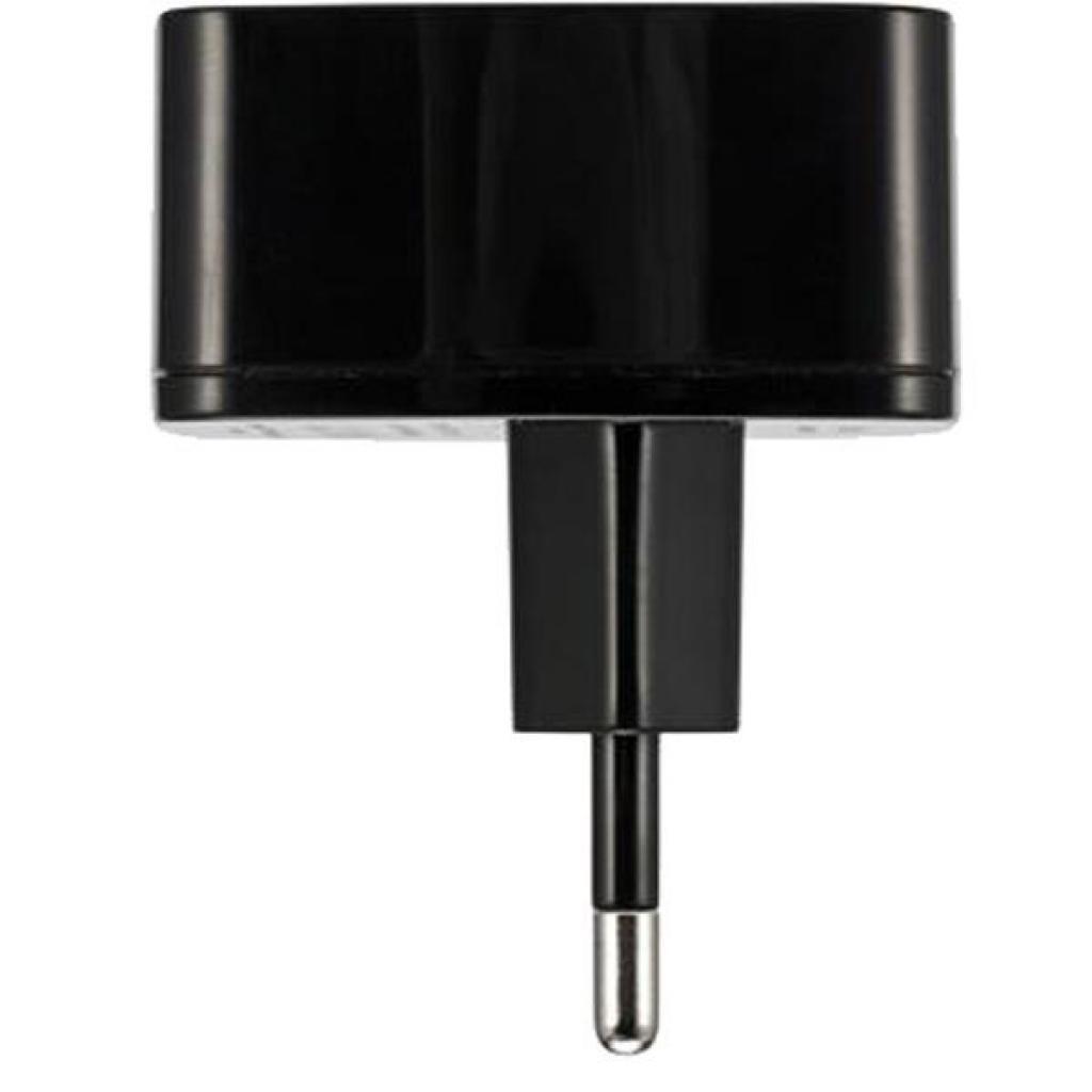 Сетевое зарядное устройство Remax RP-U215 Dual USB 2.4A + microUSB Cable Black фото 3