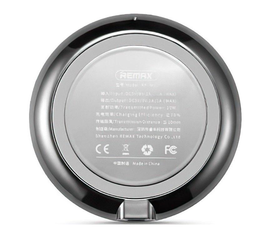 Бездротове зарядний пристрій Remax Wireless Linon 10W Silver фото2