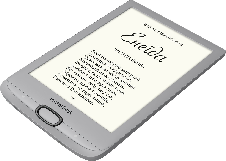 Електронна книга PocketBook 616 Silverфото3