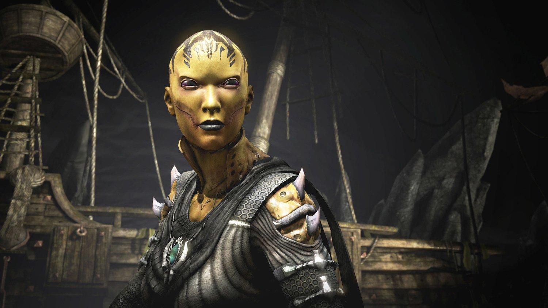 Игра Mortal Kombat X (PS4, Русская версия) фото