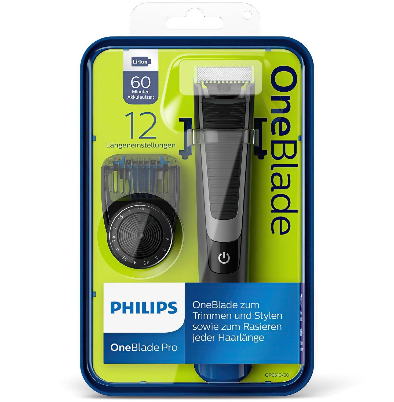 Триммер Philips OneBlade QP6510/20 фото 8