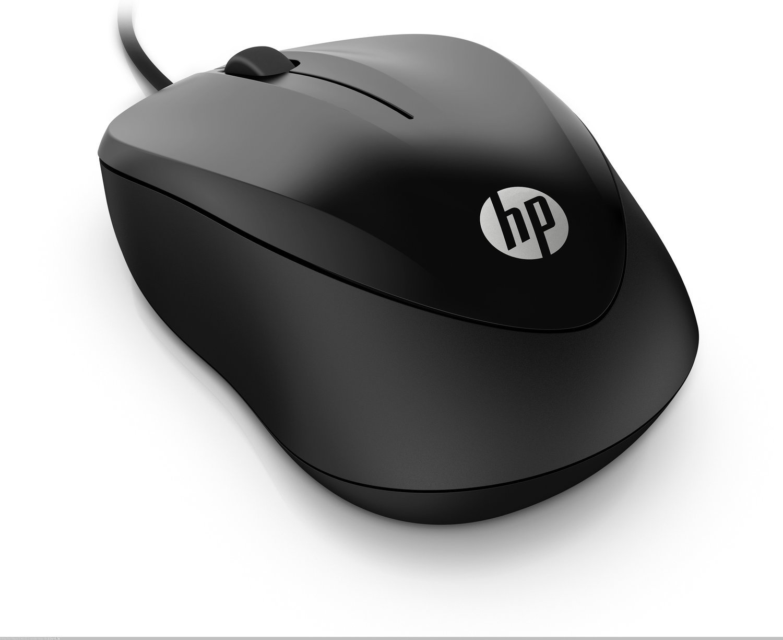 Мышь HP Wired 1000 USB Black (4QM14AA) фото