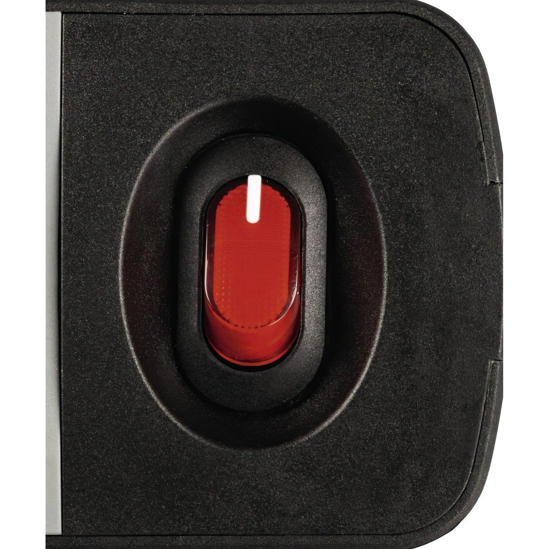"""Удлинитель НАМА """"TIDY-Line"""" на 4 розетки, с выключателем, 1.5м, черный / серый фото 3"""