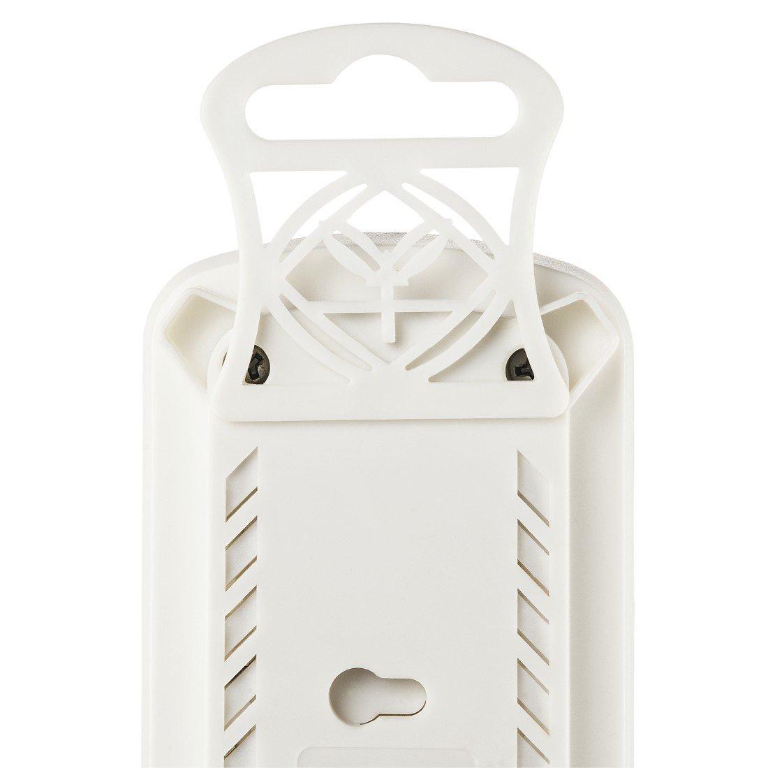 Удлинитель НАМА на 6 розеток, с выключателем, 1,5 м, белый фото 5