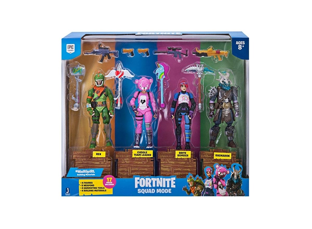Ігрова колекційна фігурка Fortnite Squad Mode, набір (FNT0019) фото