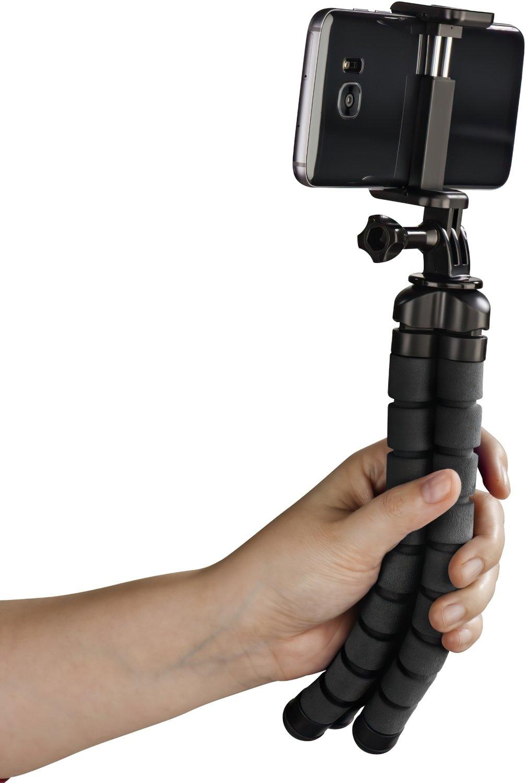 Штатив НАМА Flex для смартфонів і GoPro, 26 см, чорний фото3