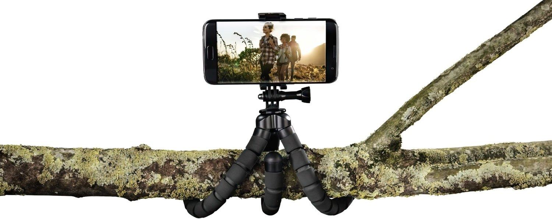 Штатив НАМА Flex для смартфонів і GoPro, 26 см, чорний фото4