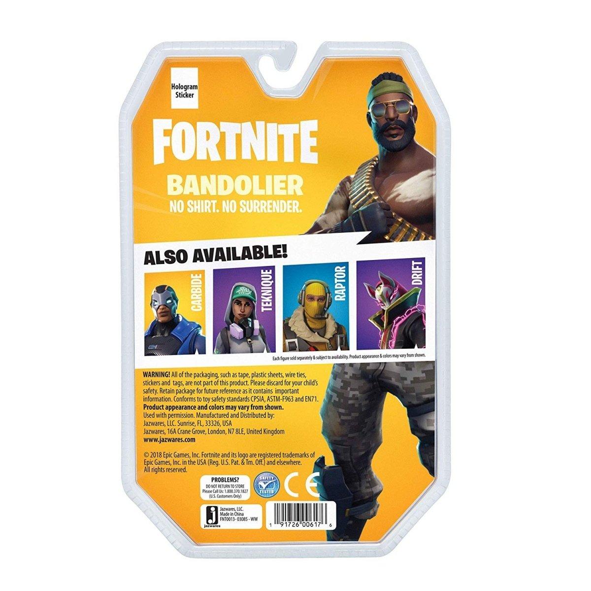 Игровая коллекционная фигурка Fortnite Solo Mode Bandolier (FNT0013) фото