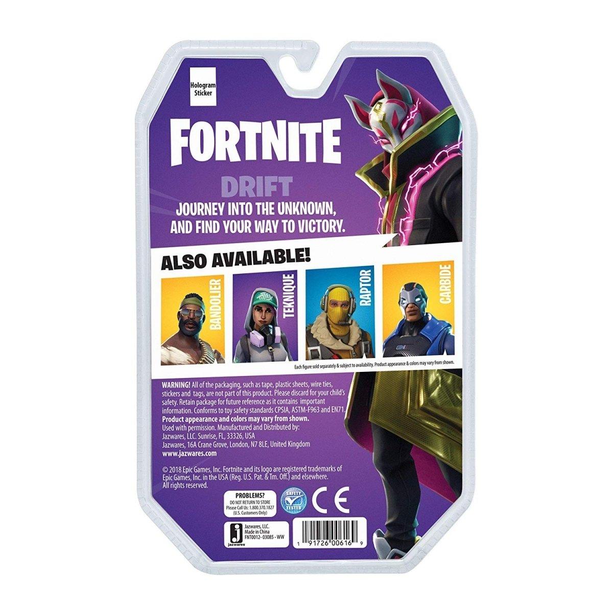 Игровая коллекционная фигурка Fortnite Solo Mode Drift (FNT0012) фото