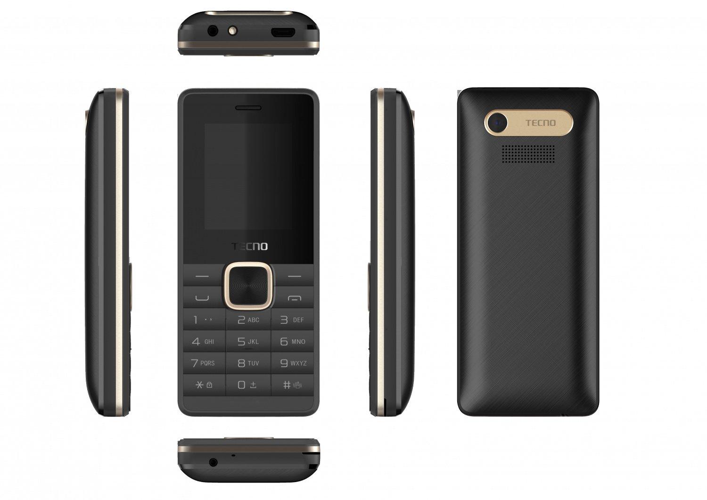 Мобильный телефон Tecno T349 DS Dark Black