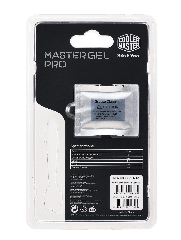 Термопаста Cooler Master MasterGel Pro (MGY-OSSG-N15M-R1) фото