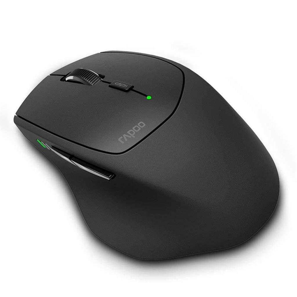 Миша RAPOO MT550 Wireless multi-mode Black (MT550_BLACK)фото