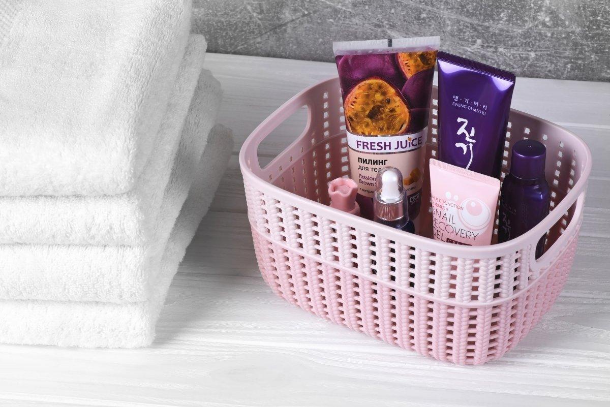 Кошик плетений Ardesto Sweet Home рожева 3 л (AR1730BP) фото2
