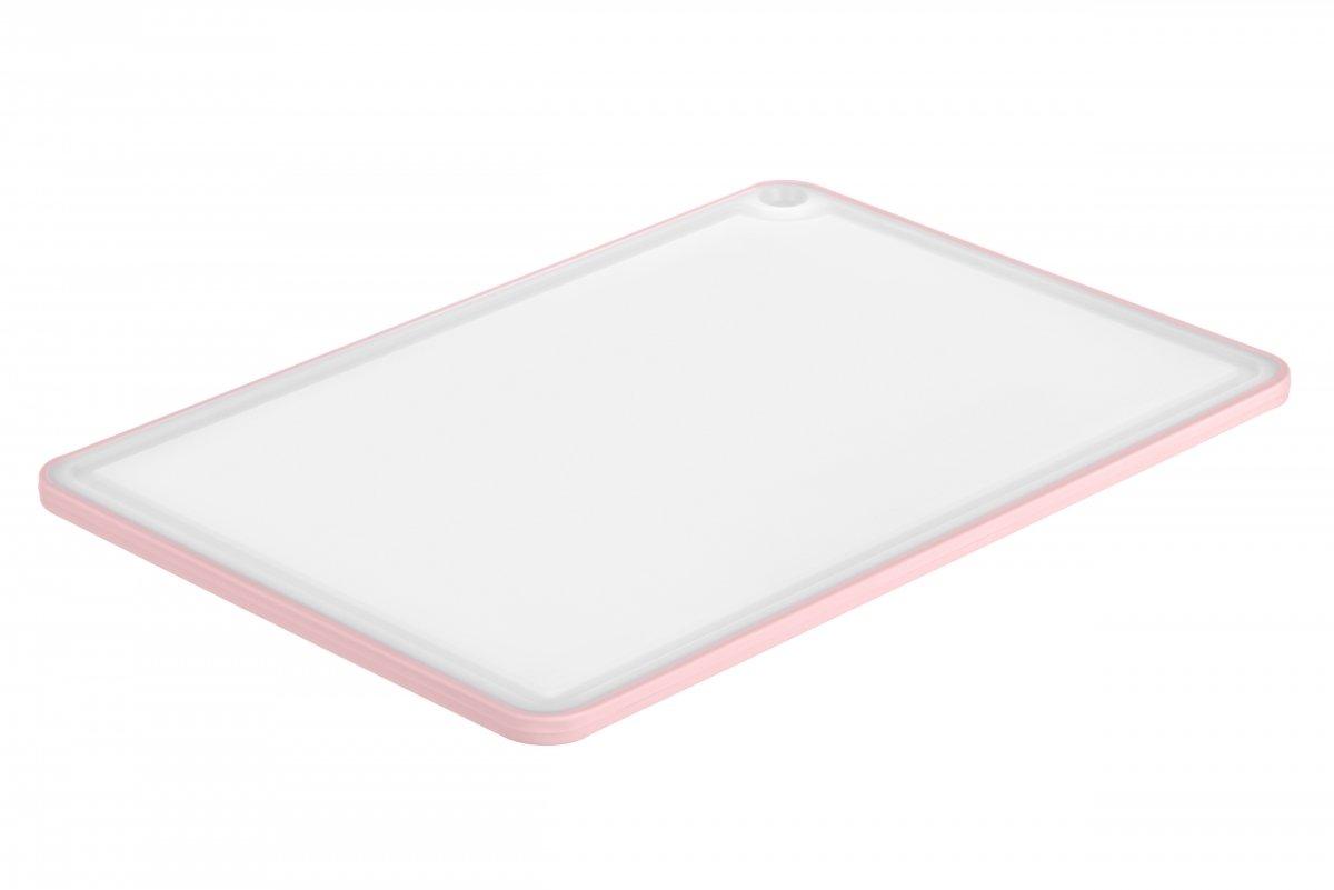 Доска кухонная Ardesto Fresh розовая 205х290 мм (AR1401PP) фото 2
