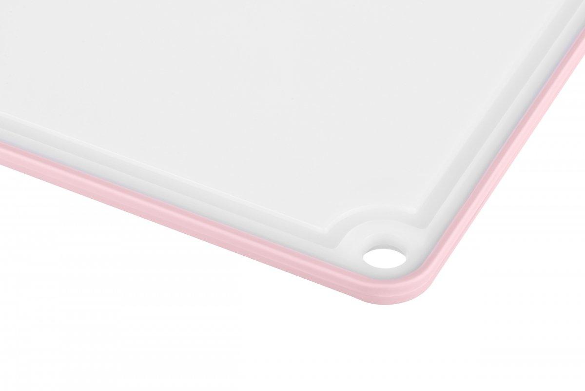 Доска кухонная Ardesto Fresh розовая 205х290 мм (AR1401PP) фото 3