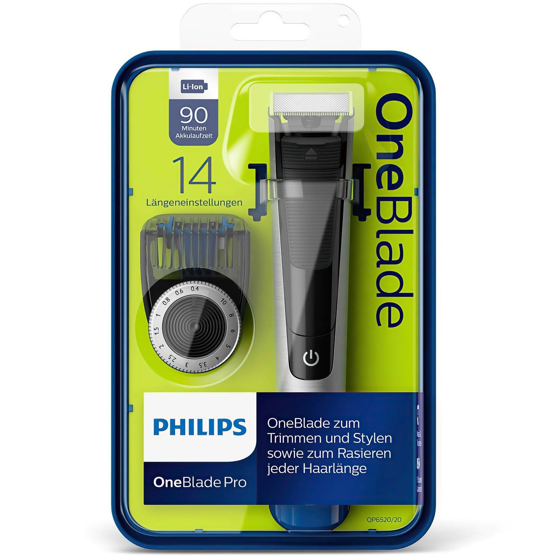 Триммер Philips OneBlade QP6520/20 фото 8