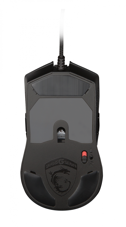 Ігрова миша MSI Clutch GM40 Black (S12-0401340-D22) фото